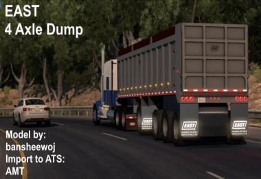 EAST 4 Axle Dump v11.01.19 1.33.x