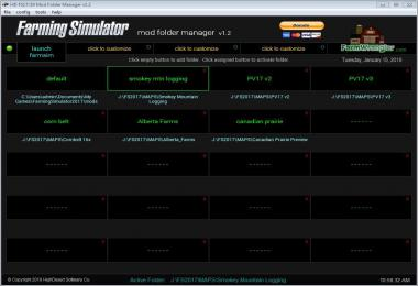 Farming Simulator Mod Folder Manager v1.2
