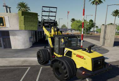 FS19 Wheel Loader Bale Fork v1.0.0.0
