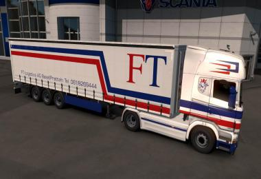 FT Logistik Paintjob Scania R 1.33.x