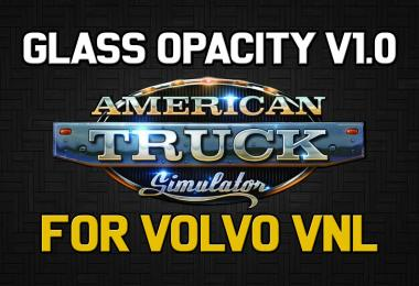 Glass Opacity for Volvo VNL (ATS) v1.0