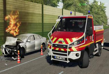 Iveco Daily (Feuerwehr Kaltenkirchen) v1.0