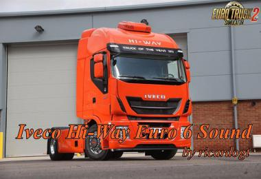 Iveco Hi-Way Euro 6 Sound v1.0.1 by ricardogt 1.33.x
