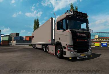 JQ van der Meer skin for Scania NG 1.33.x