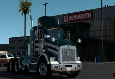 Kenworth T800 by Cerritos ETS2 1.33.x