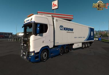 Krone Skins Pack for Trucks v2.0 1.33.x