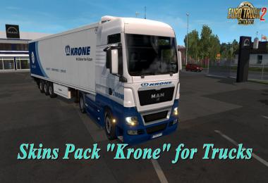 Krone Skins Pack for Trucks v3.0 1.33.x