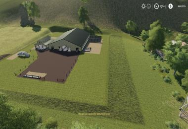 Large American Cow Shed v1.0