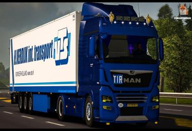 MAN TGX Euro 5 Open Pipe Sound 1.33.x