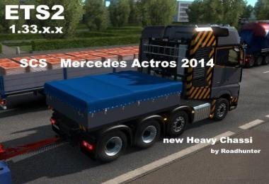Mercedes Actros 2014 New Heavy Chassi 1.33.x