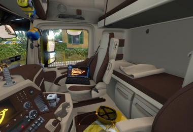 Mercedes Actros MP4 Interior 1.33.x
