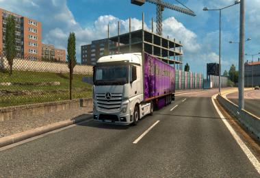 Mercedes Actros MP4 Reworked v1.6