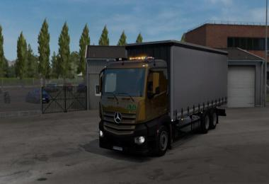 Mercedes Antos Fixed 1.33.x