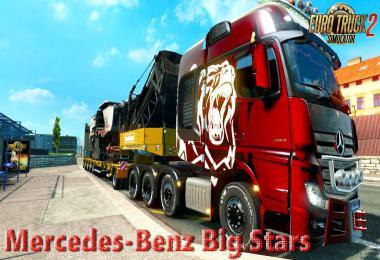 Mercedes-Benz Big Stars - Actros/Arocs SLT v1.5.3.6