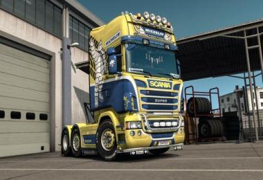 Michelin skin Scania RJL 1.33.x