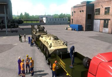 Military oversized cargo v1.0 for DLC Beyond the Baltic Sea