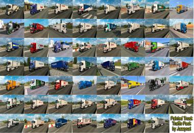Painted Truck Traffic Pack by Jazzycat v7.0