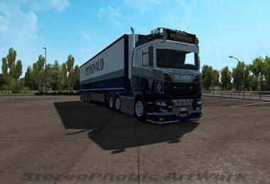 Petignaud skin for Scania NextGen 1.33.x