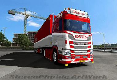 Pierrard skin for Scania NextGen 1.33.x