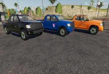 Police And D.O.T. Pickup Edit of DELTABRAVO's v1.0.0
