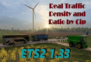 Real AI Traffic Engine Sounds ETS2 1.33.f