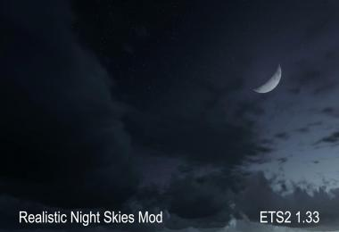 Realistic Night Skies Mod 1.33.x