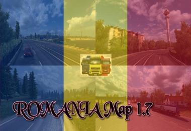 ROMANIA Map v1.7