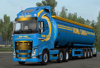 ROML Cargo Volvo FH4 and Menci Cistern Skinpack 1.33.x