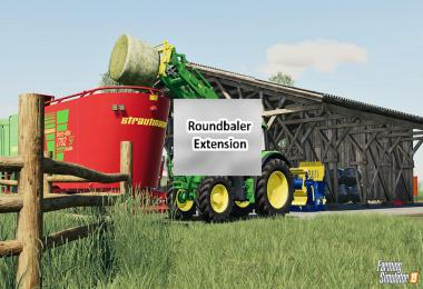 Round Baler Extension v1.0