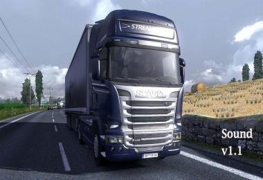 SCANIA 6 IN LINE SOUND v1.1