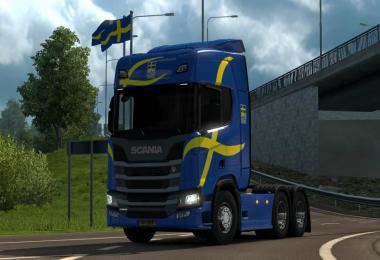Scania NextGeneration Limited Editions skins v1.0