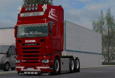 Scania NIGHT FLYER skin 1.33