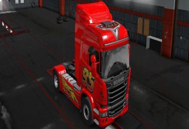 Scania Streamline Mack skin 1.33