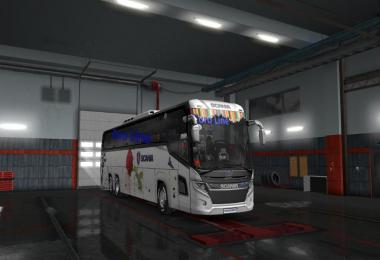 Scania Touring Bus 2019 How to Active 1.33.x