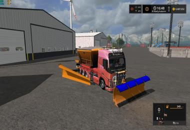Snow Truck with snowblades and sander v1.0