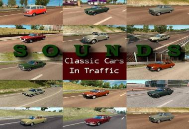 Sounds for Classic Cars Pack by TrafficManiac v2.3