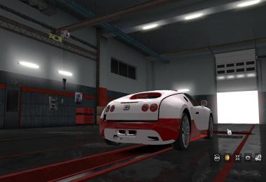 Sportcar Bugatti Veyron v2.0