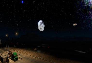 Starlit Sky Mod for ATS 1.33