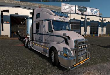 Uncle D Logistics ATS VTC Garage Skin 1.33.x