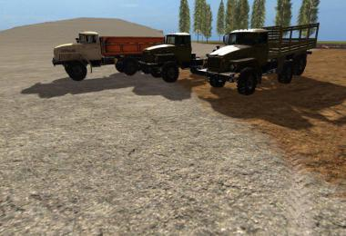 URAL truck set plus trailers v1.0