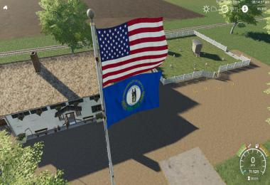 USA above Kentucky Flag v1.0.0.0