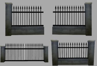 Wall with Fence v1.0