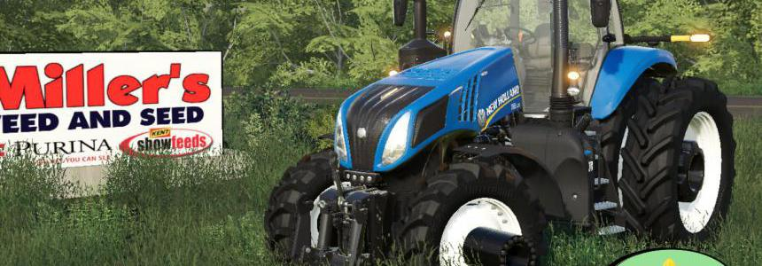New Holland T.8 Row Crop v1.0