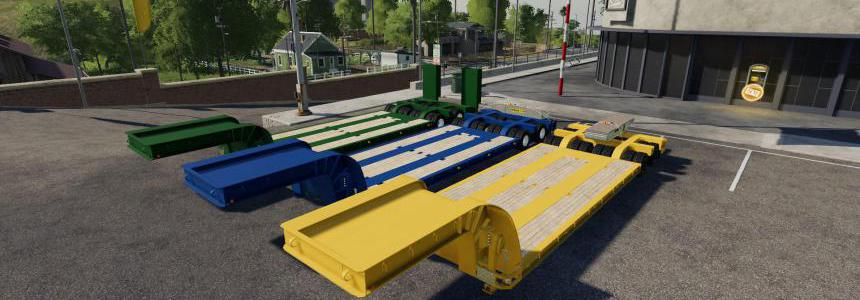 16 WHEELS LOWDECK TRAILER v1.2.0.0