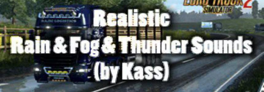 Realistic Rain & Fog & Thunder Sounds v1.2