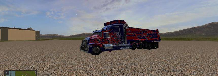 Optimus prime dump truck not finished v1.0.0.3