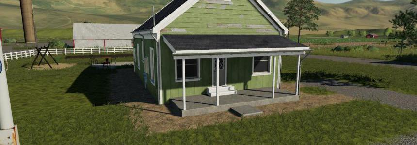 Placeable 2 bedroom house with sleep trigger v1.0