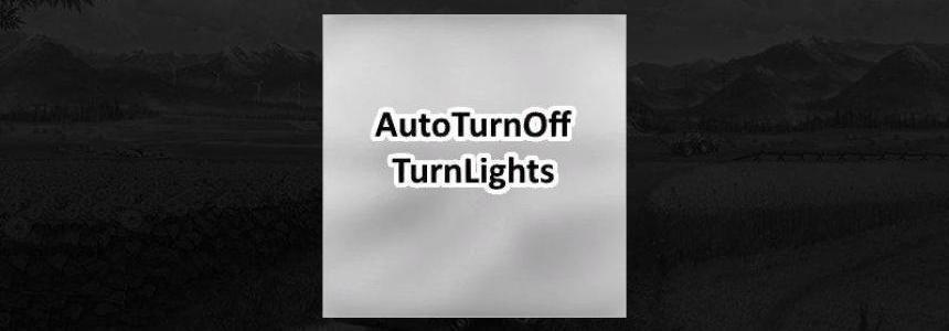 Auto turn off turn lights v1.0.0.0