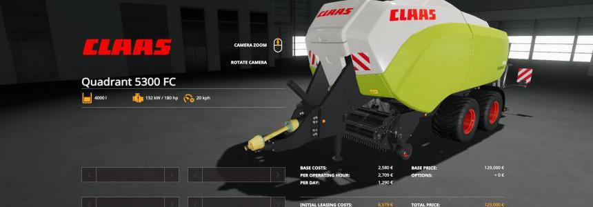 Claas Quadrant 5300 FC v1.1