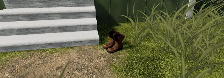 Farm Boots Placeable with sleep trigger v1.0